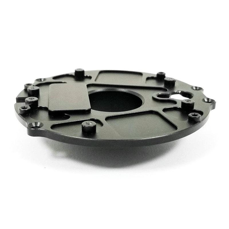 光学设备铝合金壳体零件加工